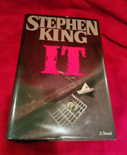 Rare Stephen King Signed IT First Edition First Printing
