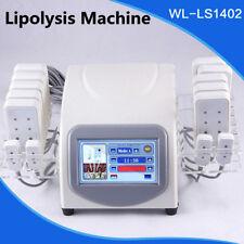 14 Laser Pads Slimming Fat Removal Lipo Lipolysis Body Massage Beauty Machine