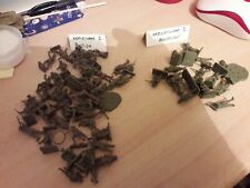 UN-PAINTED AIRFIX PLASTIC WW1 BRITISH AMERICAN ARMY infantry 1/76th loose