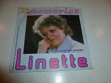 "LINETTE - Memories - 1985 Dutch 2-track 7"" Juke Box Vinyl Single"
