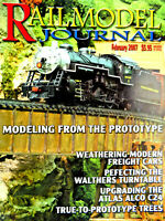 Railmodel Journal February 2007 Prototype Trees, Weathering Freight Cars