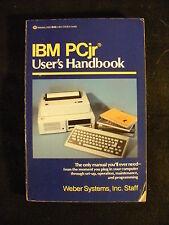IBM PCjr User's Handbook (Softcover, 1984) Ballantine Books
