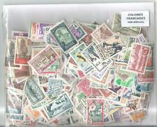 COLONIES FRANCAISES  1000 TIMBRES DIFFERENTS   FORTE COTE  A SAISIR