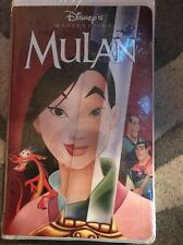Walt Disney Masterpiece Collection VHS Video Tape Mulan #12747 New Sealed
