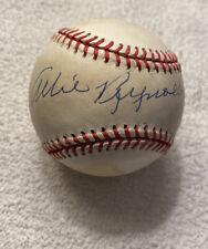 Allie Reynolds signed Autographed VINTAGE OAL BASEBALL NY YANKEES