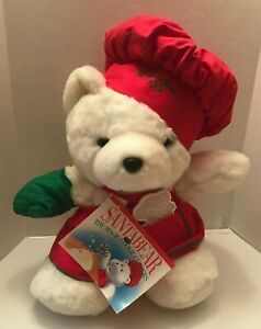 VTG Dayton Hudson 1991 Santa Bear Cookie Cutter Great Condition with tags.