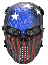 Skull Mask Tactical Airsoft Paintball Protection Full Face Mask Safety CS Game