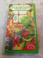 Franklin's Christmas Gift (VHS, 1999, Clamshell)