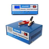 Autobatterie Ladegerät Kfz Pkw LED Ladegerät Batterie Starthilfe 12/24 V 10A Neu