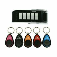 Remote Wireless Key Wallet Finder Receiver Lost Item Thing Locator-5 in 1