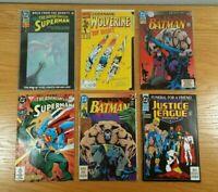 COMIC BOOKS (Lot Of 50+) Assorted w/ Superheroes: Batman, Superman, etc. LOT E