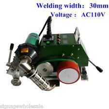 AC110V High Speed Hot Air Welding Machine Banner Welder, 30mm Welding Width