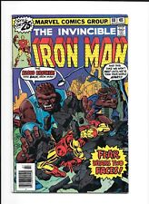 Invincible Iron Man Issue 88 Tony Stark Blood Brothers Marvel Comic Book 1976