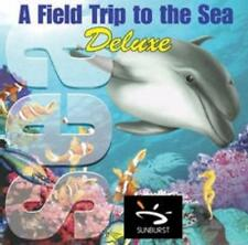 A Field Trip To The Sea Deluxe Pc Mac Cd learn ocean animals life corel reefs +