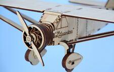 Bellanca CH-300 LITUANICA, detailed model kit, 1/32, DIY, laser cut wood, puzzle