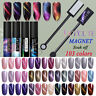 5/8ml LILYCUTE Soak Off UV Gel Nagellack Katzenauge Magnetic Gel Varnish DIY