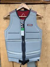 Follow Token Oil wakeboard watersports waterski impact vest jacket Grey NEW