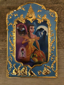 Mint! Disney Bradford Exchange Belle Beauty and the Beast Anniv Plate/Plaque