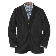 Mens £199 ORVIS Andover Twill Jacket Size 42 Black