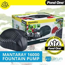 Pond One MantaRay 4000 Fountain Water Pump - Manta Ray Submersible Aquarium Aqua