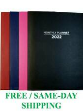 2022 Monthly Planners Appointment Calendar Agenda Organizer 10x75 Fast Ship
