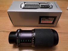 Osawa MC 80mm-200mm F4.5 telephoto lens