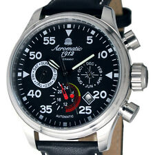 German AVIATOR OBSERVER AUTOMATIC calendar day/date/month 24H A1420