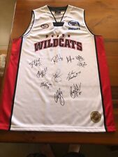 Perth Wildcats Hand Signed Size 2XL Jumper