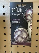 Braun Silk Epil 7 SkinSpa Replacement Exfoliation Brush 79 SPA D5