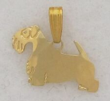 Sealyham Terrier Jewelry Gold Pendant by Touchstone