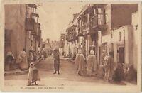 BISKRA ALGERIA Rue des Ouled Nails Vintage PC 1928