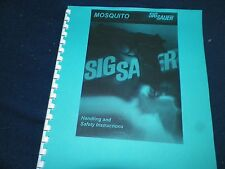 SIG SAUER ARMS,  MOSQUITO,   OWNERS MANUAL,   28 PAGES