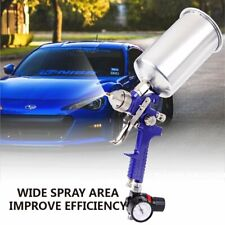 Spray Gun Kit with Durable Auto Paint Primer Metal Flake 2.5mm HVLP Gravity