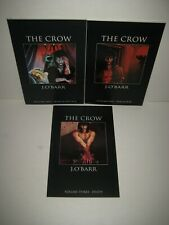 The Crow (Tundra, 1992 series) #1-3 Complete Full Set James O'Barr Volume 1 2 3