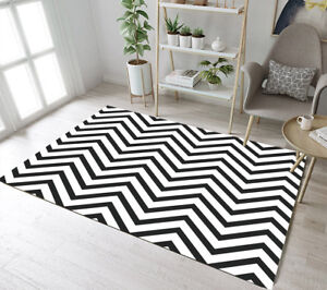Abstract Style Home Kids Soft Carpet Floor Living Room Yoga Mat Decor Area Rugs