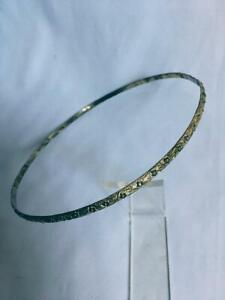 Medieval Roman Circlet Band metal headdress Jewelry Gold floral Adult used
