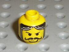 Tete LEGO CASTLE Minifig Head ref 3626bpx68 / set 6091 6098 6026 6095 4801 6094
