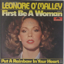"""7"""" single-Lénore O 'Malley-first be a woman/put a rainbow dans-s589"""