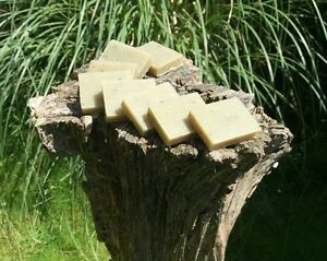Peppermint & Poppyseed Natural Handmade Guest Soaps/ Favours Eight 20g Bars