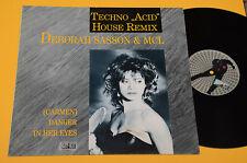 DEBORAH SASSON & MCL LP TECHNO ACID HOUSE REMIX TOP EX !!