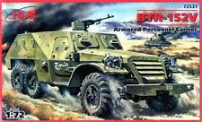 BTR 152 V APC (EGYPTIAN, SOVIET, GERMAN & POLISH MKGS) 1/72 ICM
