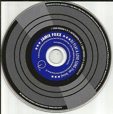 JAMIE FOXX w/ Twista Dj Play Love song INSTRUMENTAL & ACAPELA PROMO DJ CD single