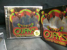 THE O'JAYS - LIVE IN CONCERT CD & DVD ( Love Train Back Stabbers ) R&B Soul