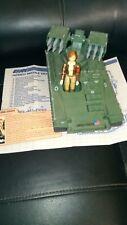 Vintage 1983 GI Joe WOLVERINE Armed Missile Vehicle 100% COMPLETE Covergirl