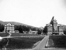 "Photo ca 1890 Univ of California Berkeley ""Bacon Hall"""