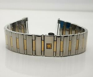 Omega Silver Stainless Steel Bracelet Size 14 mm Wrist Watch Band 1551 / 861
