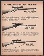 1962 MARLIN 336-C 30/30 Remington & Winchester, 444 Carbine AD