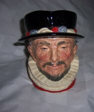 Royal Doulton Co Limited Beefeater Toby Mug D6206 England  6 1/2 Inches Jug EUC