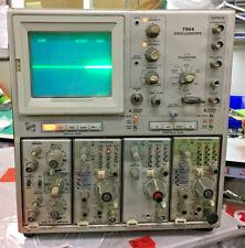 Tektronix 7904 Oscilloscope w/ 1) 7A26, 2) 7B85 & 1) 7B80