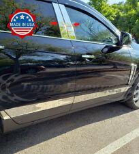 2010-2016 Cadillac SRX Chrome 4Pc Pillar Post Stainless Steel Trim